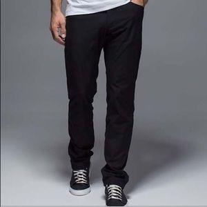 Lululemon | Mens Black ABC Pants Size 36